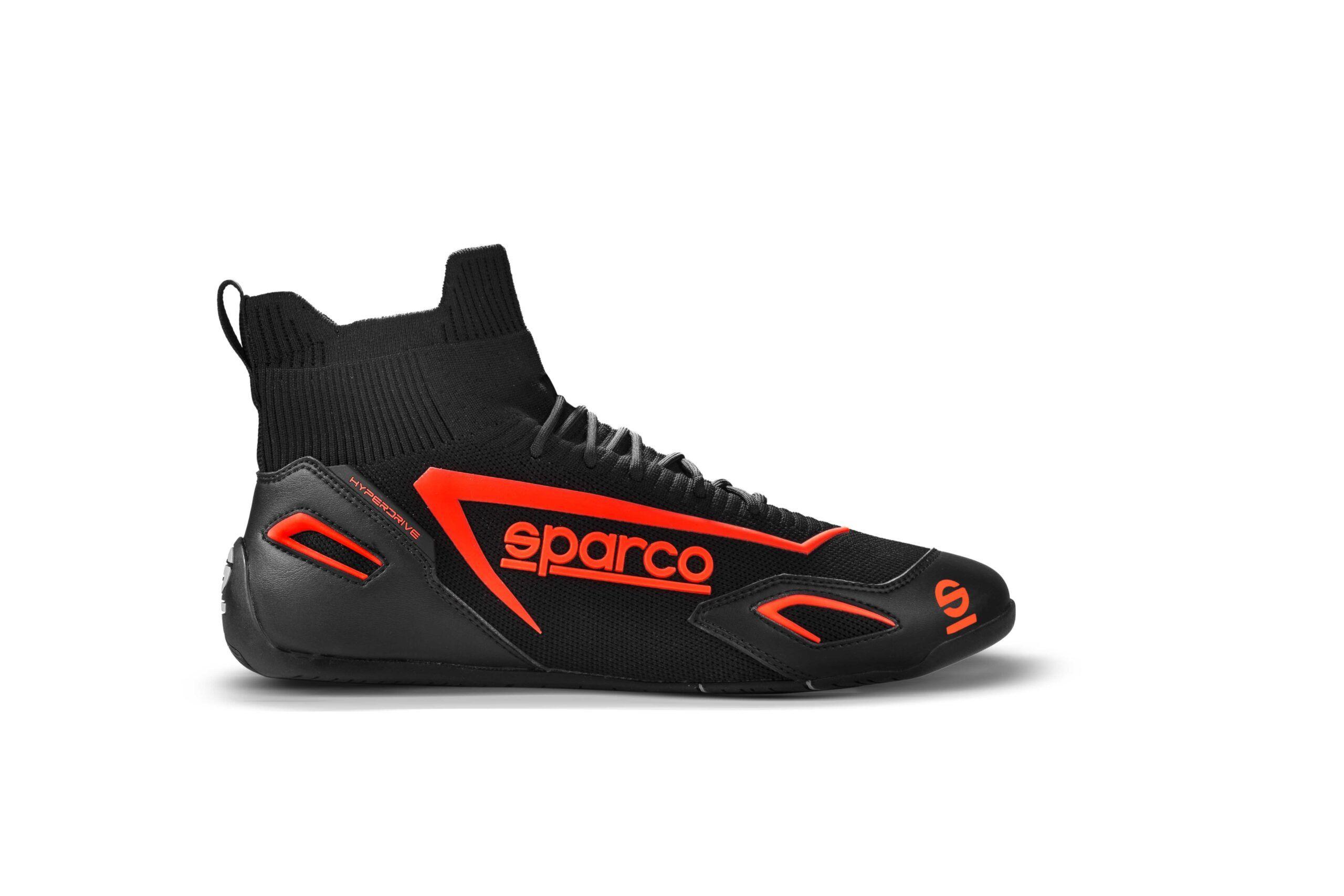 Sparco Hyperdrive Simrace schoen rood zwart