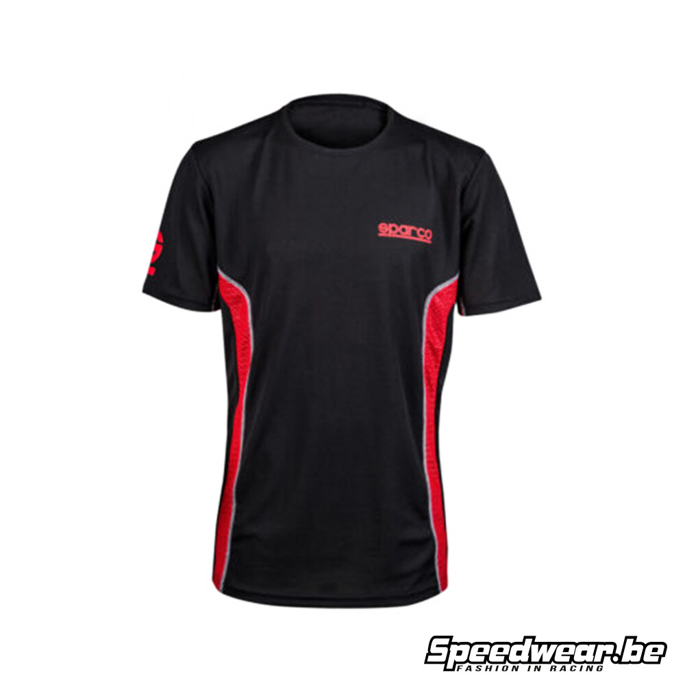 Sparco GT-Vent Gaming T-shirt black red