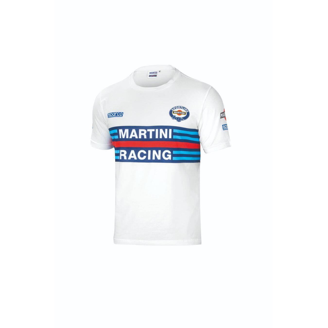 Sparco Martini T-shirt wit - voor mannen