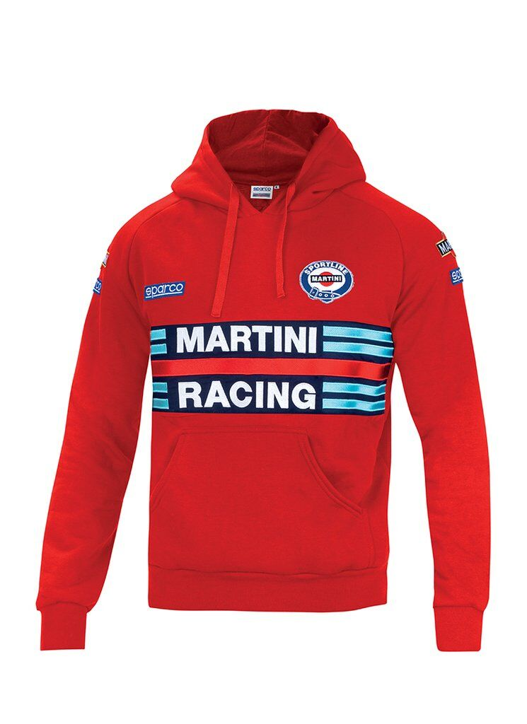 Sparco Hoodie Martini Racing red