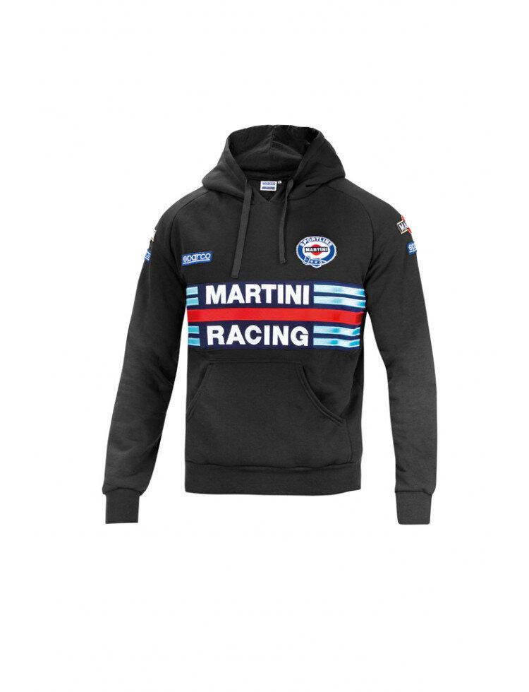 Sparco Hoodie Martini Racing black