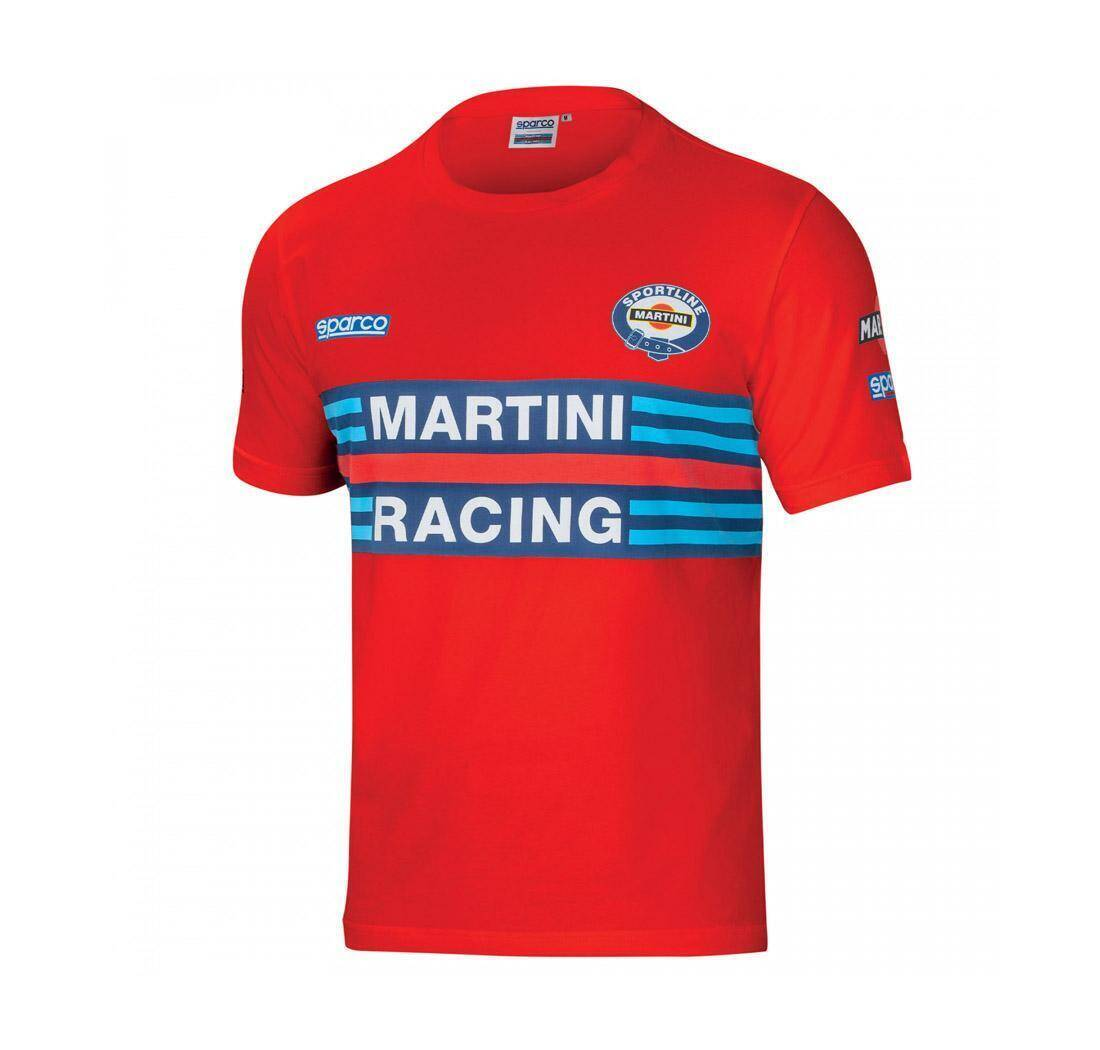 Sparco Martini T-shirt rood - voor mannen